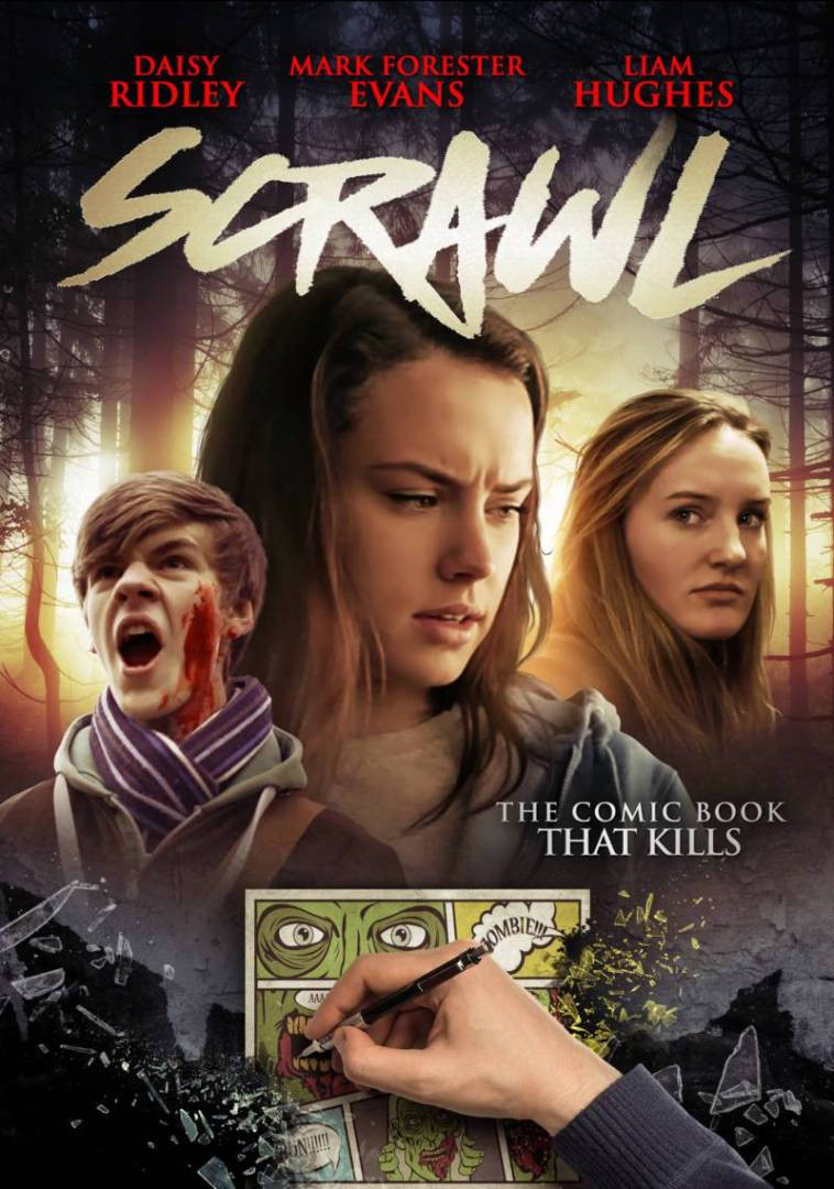 Scrawl Daisy Ridley Poster