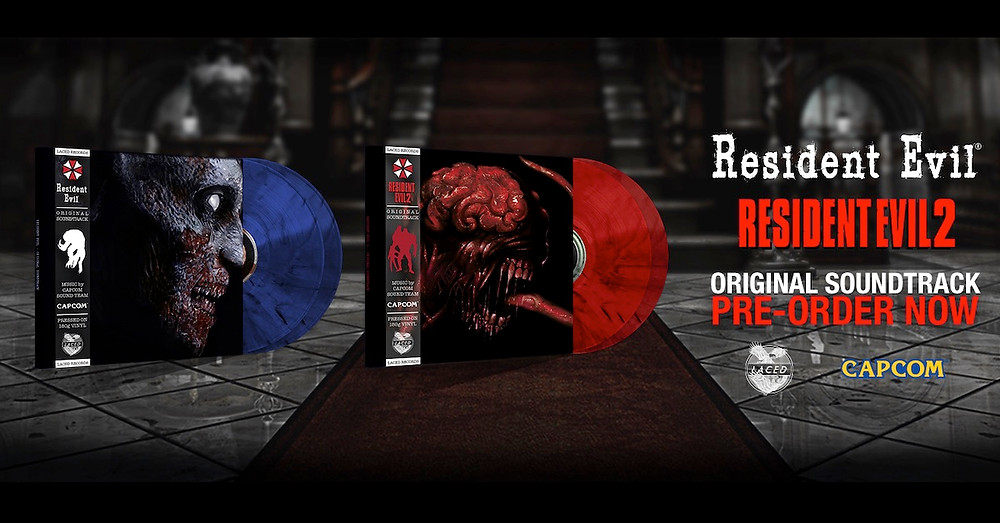 Resident Evil vinyl Laced Records