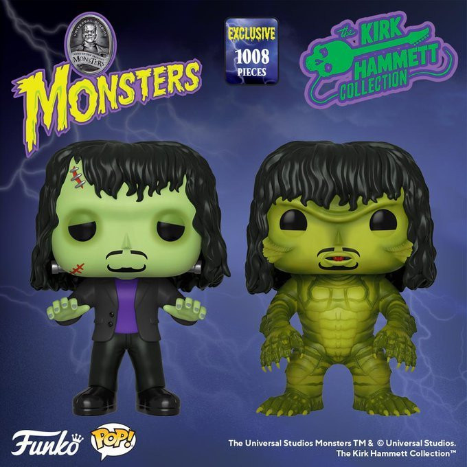 Kirk Hammett Universal Monsters Funko Pop