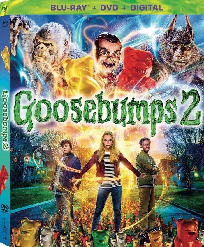 Goosebumps 2 Blu-ray