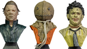 Trick or Treat Studios Debuts Line of Horror Icon Mini Busts