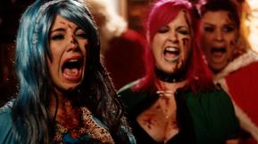 Krampus Wreaks Havoc In The Trailer For Christmas Horror Comedy 'Slay Belles'