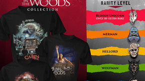 'The Cabin In The Woods' Collection Now Available From Fright-Rags