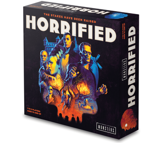 Horrified Universal Monsters Game Toy Fair