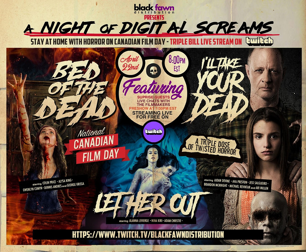 Black Fawn Distribution Night of Digital Screams Twitch