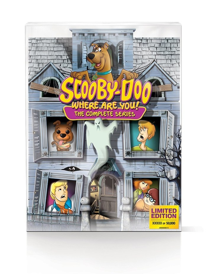 Scooby-Doo Where Are You! Complete Series Blu-ray Mystery Mansion