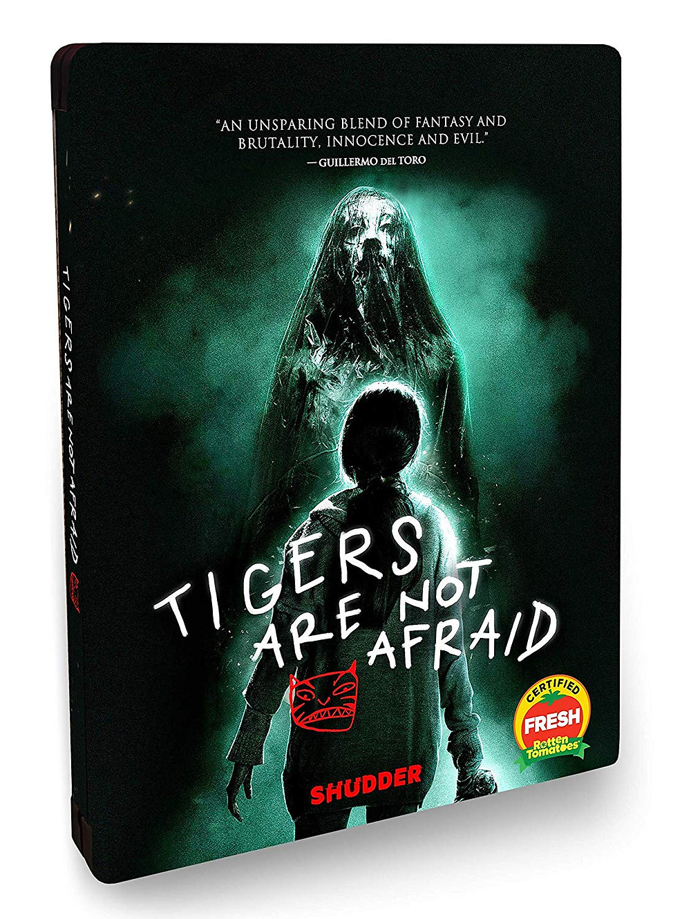 Tigers Are Not Afraid Steelbook