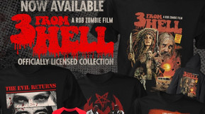 Fright Rags Unleashes Their Official '3 From Hell' Apparel Collection