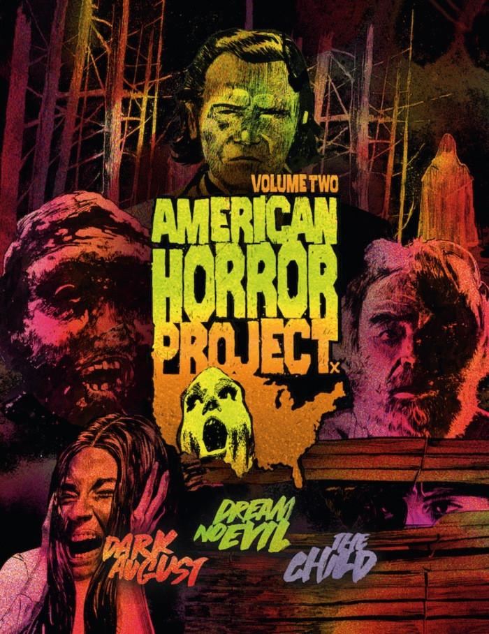 American Horror Project Volume 2 Arrow Video Blu-ray