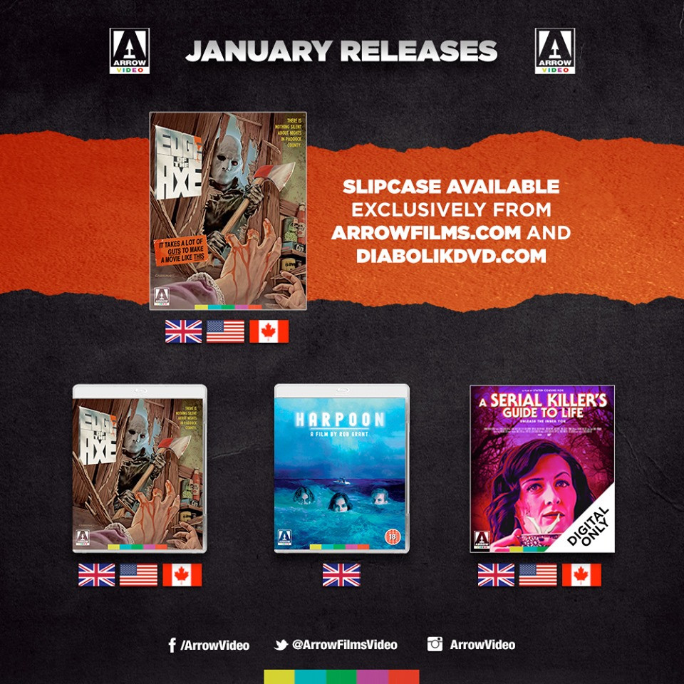 Arrow Video January 202 Releases