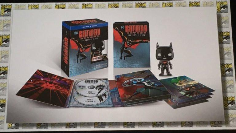 Batman Beyond Blu-ray Set San Diego Comic-Con