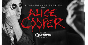 """Listen To Two Tracks From """"A Paranormal Evening With Alice Cooper At The Olympia Paris"""""""