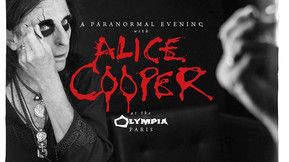 "Listen To Two Tracks From ""A Paranormal Evening With Alice Cooper At The Olympia Paris"""