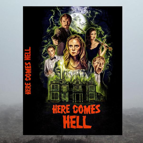 Here Comes Hell DVD Hex Studios
