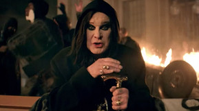 """Ozzy Osbourne Leads Chaotic Riots In """"Straight To Hell"""" Music Video"""