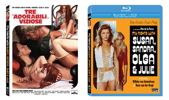 My Nights with Susan, Sandra, Olga & Julie Blu-ray Review