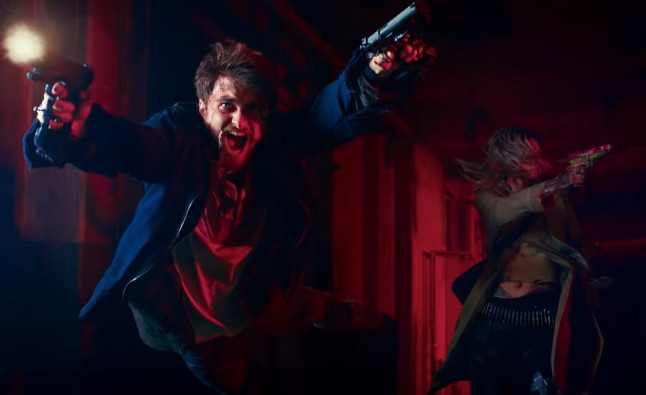 Guns Akimbo Trailer Daniel Radcliffe