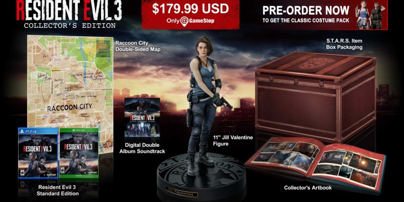 Resident Evil 3 Remake Collector's Edition