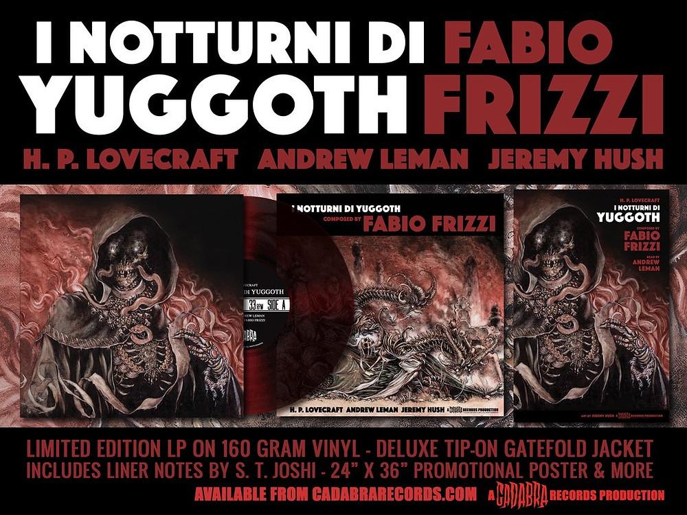 I Notturni Di Yuggoth Fabio Frizzi Cadabra Records