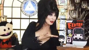Elvira Promotes Her Funko Cereal In A New Commercial, Available Now At Hot Topic