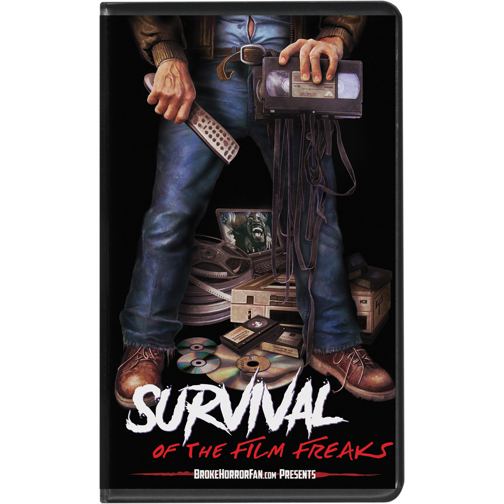 Survival Of the Film Freaks Broke Horror Fan VHS