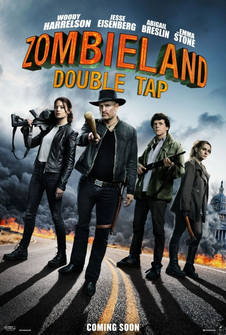 Zombieland Double Tap New Poster Art