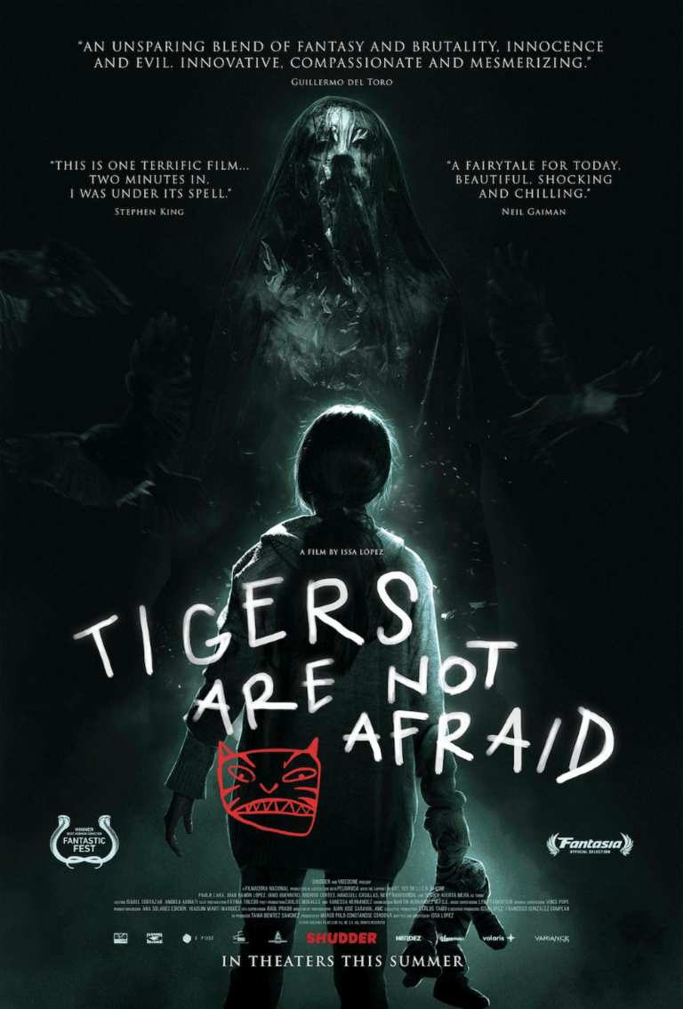 Tigers Are Not Afraid Poster Shudder