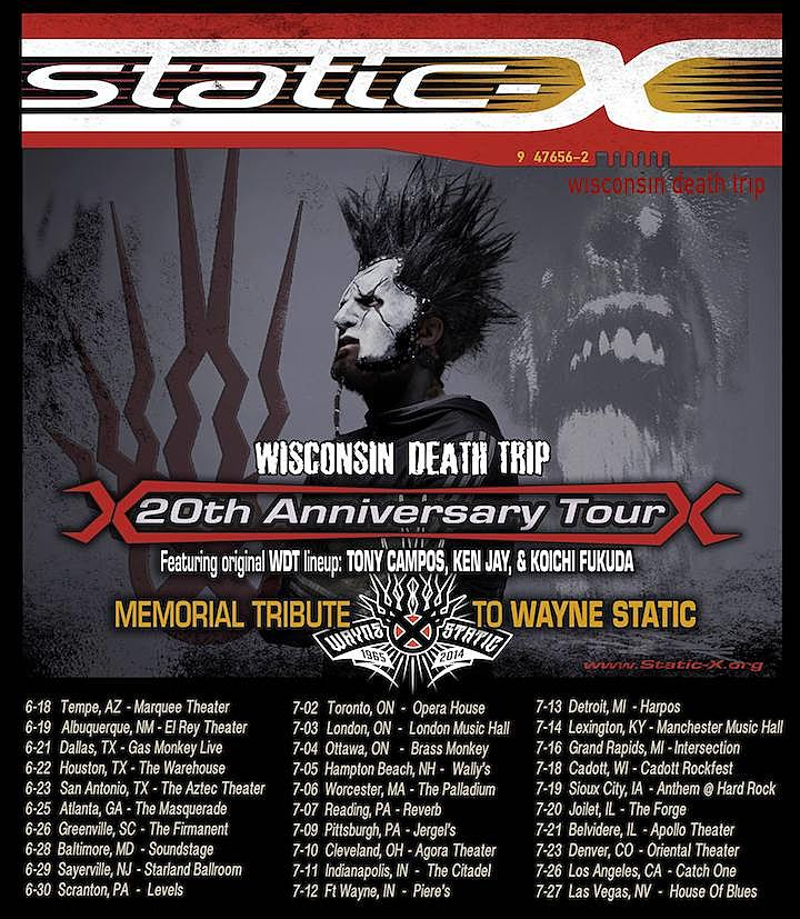 static-x-tour