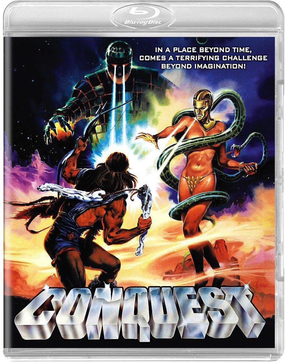 Lucio Fulci Conquest Blu-ray Code Red DVD