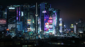 'Cyberpunk 2077' Launch Trailer Enters the Sprawling Megalopolis of Night City