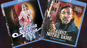 Severin Films Releasing 'The Sadist Of Notre Dame' And 'Sinfonia Erotica' On Blu-ray