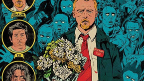 Mondo Releases EC Comics Stylized Posters For Edgar Wright's Cornetto Trilogy