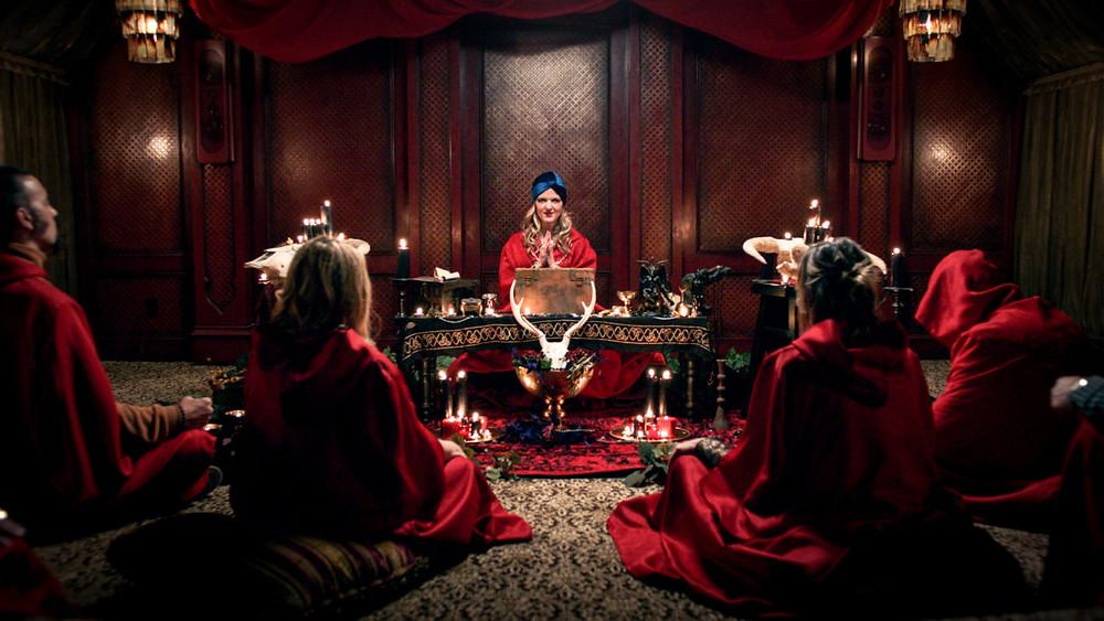 Satanic Panic Trailer Chelsea Stardust RLJE Films