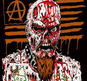 """GG Allin """"25th Deathiversary"""" Bust From Aggronautix"""