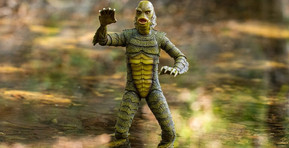 """Mondo Reveals Stunning 'Creature from the Black Lagoon' 12"""" Figure With Black & White Variant"""