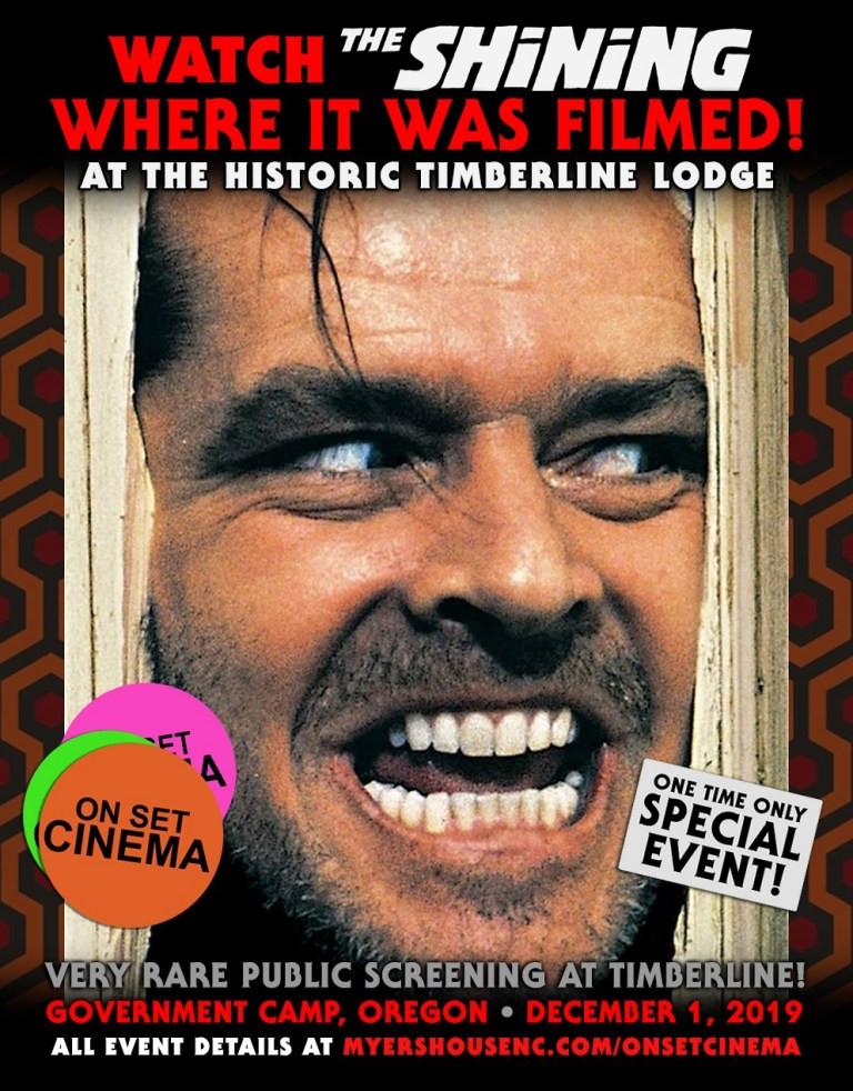 On Set Cinema The Shining Timberline Lodge