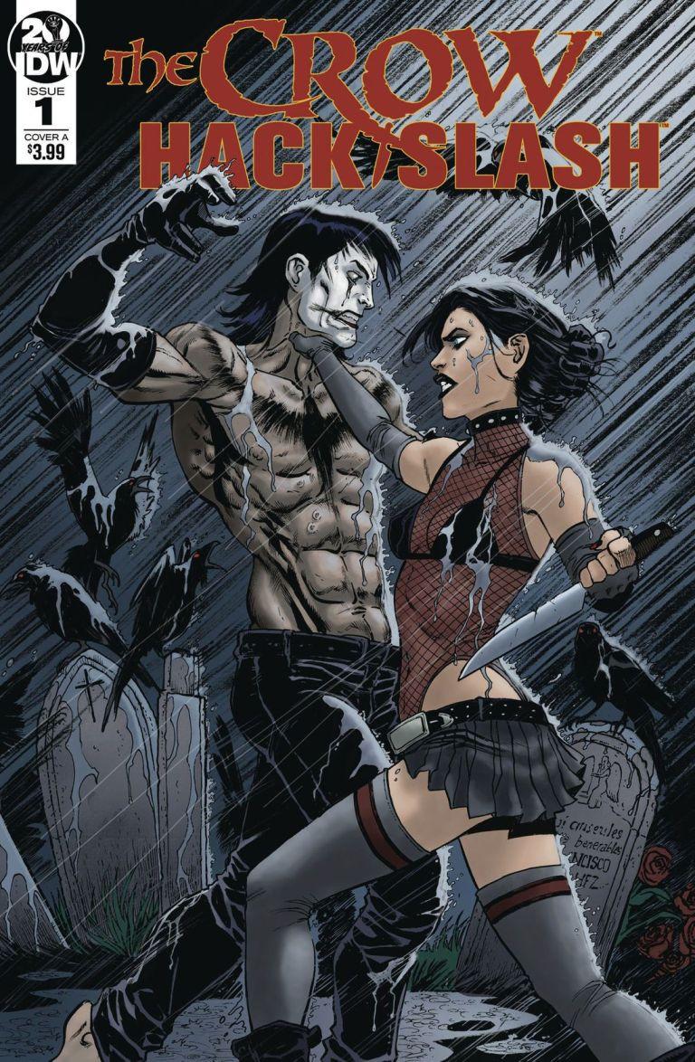 The Crow-Hack/Slash Comic Book Crossover