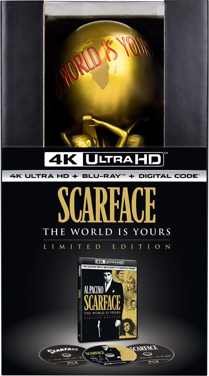 Scarface World Is Yours Statue 4K Ultra HD