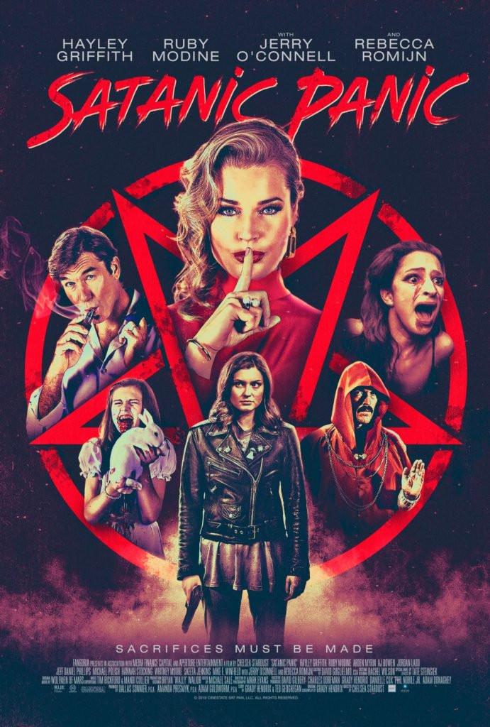 Satanic Panic Poster Chelsea Stardust RLJE Films
