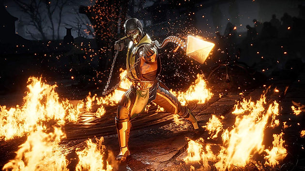 Mortal Kombat 11' Cover Art Revealed, Featuring Scorpion