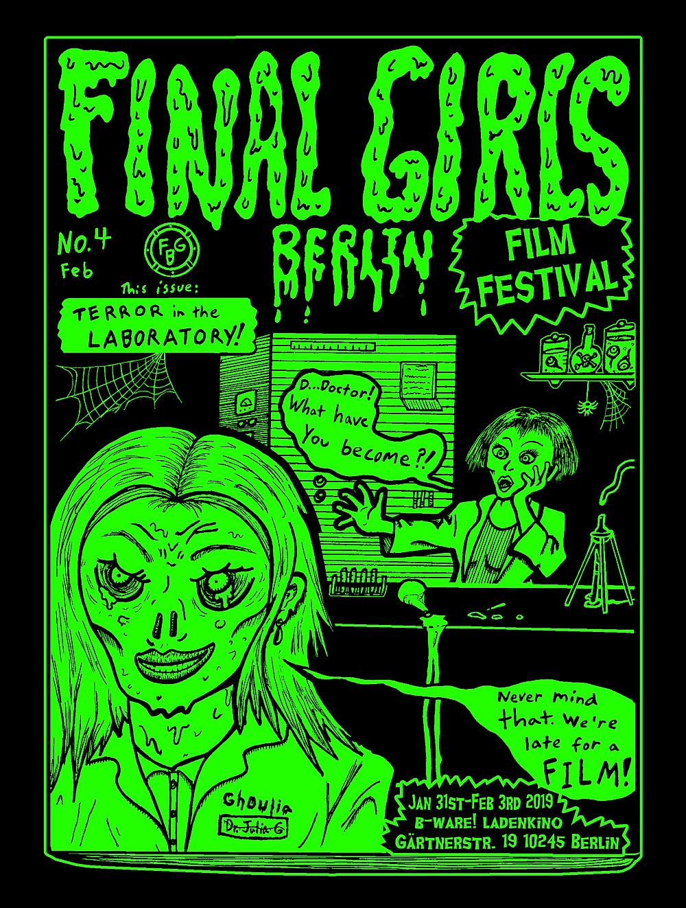 Final Girls Berlin Film Festival Poster 2019