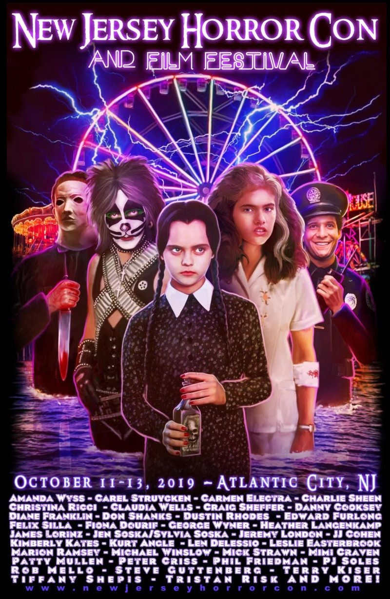 New Jersey Horror Con And Film Festival Poster