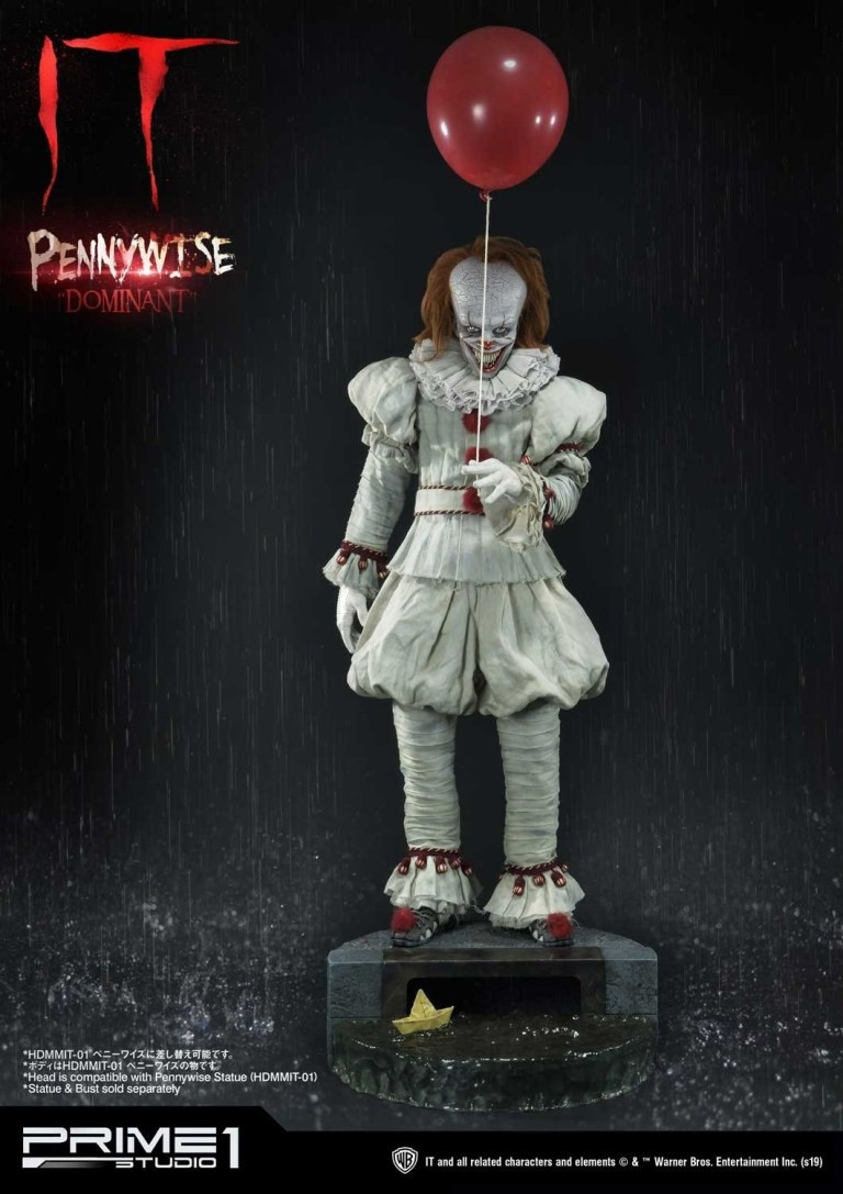 Prime 1 Studios Pennywise IT Busts