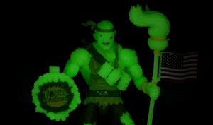 Entertainment Earth Toxic Crusaders Figure Glow in the Dark