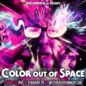 Color Out of Space VHS Witter Broke Horror Fan