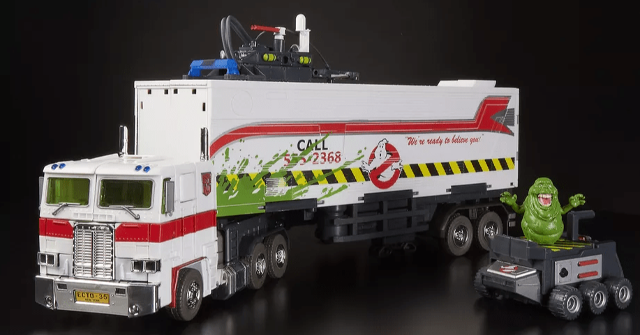 Ghostbusters Transformers Ecto-35 Toy SDCC 2019