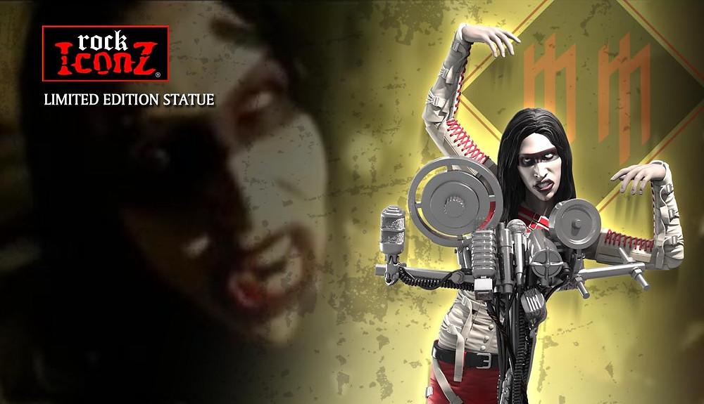 KnuckleBonz Marilyn Manson Rock Iconz Statue