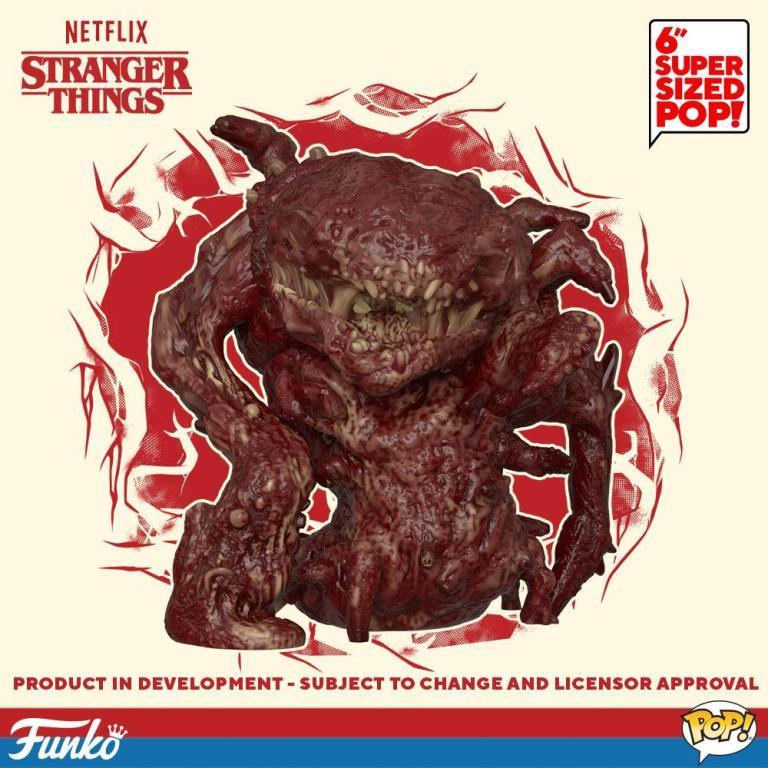 Stranger Things Season 3 Funko Pop Bruce Monster