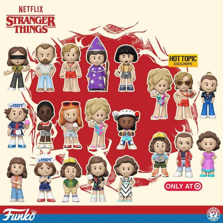 Stranger Things Season 3 Mystery Minis