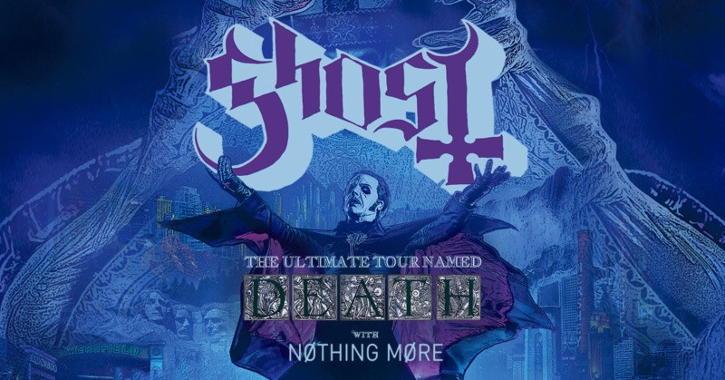Ghost Ultimate Tour Named Death New Dates